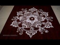 simple kolam designs with 5 dots Rangoli Kolam Designs, Rangoli Designs With Dots, Beautiful Rangoli Designs, Simple Rangoli, Free Hand Designs, Siri, Simple Designs, Coloring Pages, Nails