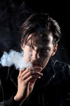 Benedict Cumberbatch. Sexy even when he smokes. <== smoking is a huge turn off for me, and yet I still find him completely perfect. :p
