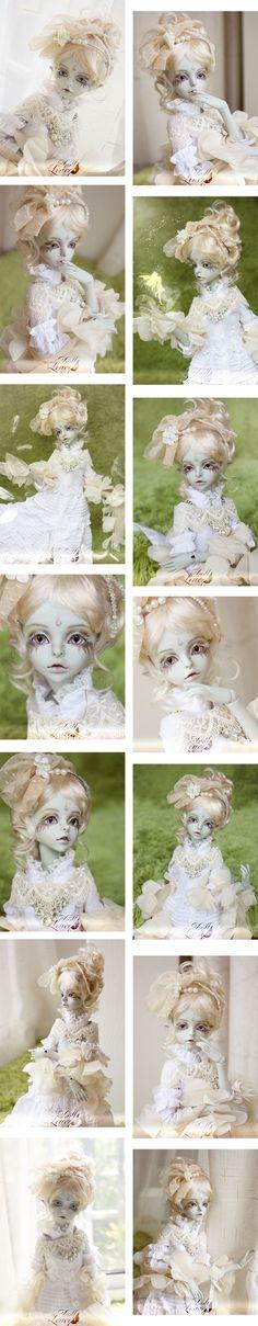 BJD Teresa Girl 43.5cm Boll-jointed doll_45cm dolls_Doll Leaves_DOLL_Ball Jointed Dolls (BJD) company-Legenddoll