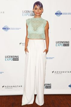 Fashion Pioneer Nicole Richie Braves The Footless-Pants Trend