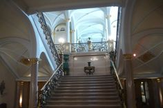 "Luxemburg-city   ""Palace"" stairs inside"