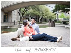 Ashley & Nathan's Las Colinas Canals Engagement Session » Dallas Texas Wedding Photographer