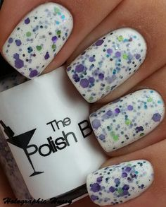 I just adore purple & green together... The Polish Bar In Full Bloom