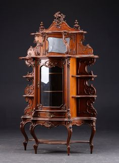 I just love carved! Cabinet Furniture, Art Furniture, Luxury Furniture, Antique Furniture, Cool Chairs, Architecture, Woodworking, China Cabinets, The Incredibles