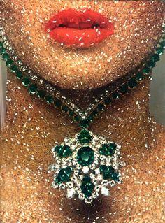 Photo by Guy Bourdin, Vogue Paris, Dec/Jan 1969-70.  The Lluchia Ray ~ www.Lluchia.com/blog2