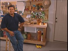 How To Create A Custom Potting Bench