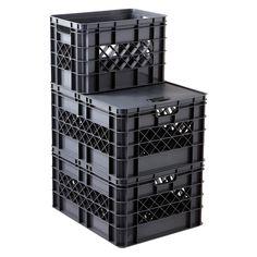 HART Quick-Tatch Storage Box BIN Tote Stack System Blade Lock Organize tools
