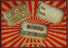8 Vintage distressed old paper blank jute tags shabby thank you happy birthday typewriter grunge digital invitation gift scrapbooking T1   Graphic Design  printable  graphic design  instant download  digital collage  antique  old papers digital scrapbook  digital tags  jute texture  grunge tags  presents tags  hanging  hang tags