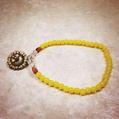 Sunflower Soul Bracelet on Etsy, $14.00