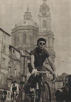 Ladislav Sitenský - Putování na kole (Walking Cycling?), 1963. S)