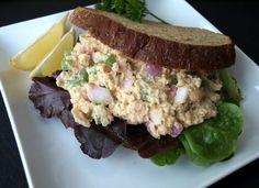 THE SIMPLE VEGANISTA: Chickpea of the Sea Salad Sandwich