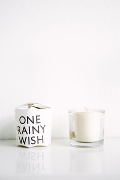 Tatine Candles One Rainy Wish Candle