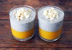 Пудинг с семенами чиа и манго рецепт с фото