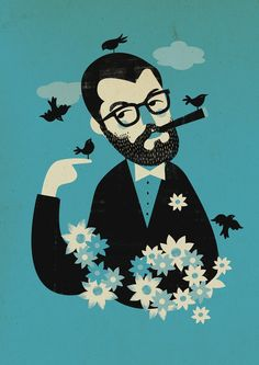 Mr. E by Pixelbox , via Behance