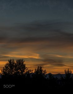 Late sunset - was almost 10pm when sun finally set on Richmond BC Canada.