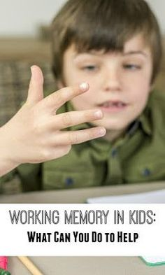 Working memory games for kids learning 61 trendy Ideas Brain Based Learning, Whole Brain Teaching, Skills To Learn, Life Skills, Learning Activities, Kids Learning, Teaching Ideas, Memory Strategies, Working Memory