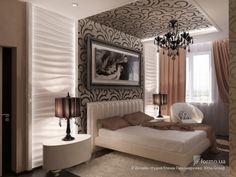 Спальня для феминистки, Дизайн-студия Елены Пономаренко Vitta-Group, Спальня, Дизайн интерьеров Formo.ua