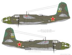 Douglas A-20G of the 1st GvMTAP, VVS of the Baltic Fleet, 1943-44