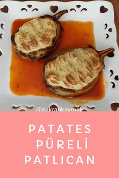 Patates Püreli Patlıcan Mashed Potatoes, Salsa, Ethnic Recipes, Food, Whipped Potatoes, Smash Potatoes, Essen, Salsa Music, Meals