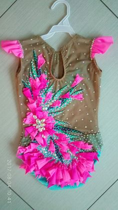Gymnastics Wear, Rhythmic Gymnastics Leotards, Color Change, Etsy, Dress Up, Costumes, Suits, Beautiful, How To Wear