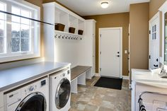 Mudrooms and Laundry Rooms— A Great Combination