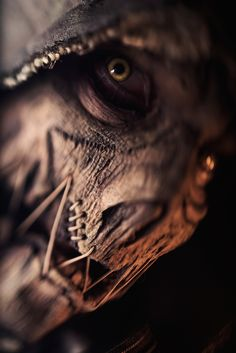 The Scariest Batman Arkham Knight Scarecrow [Cosplay]