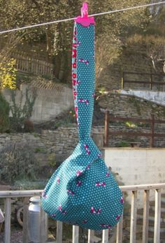 Handmade Japanese Knot Bag - Michael Miller Fabrics