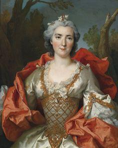 The Athenaeum - Portrait of a Woman (Nicolas de Largillière - )