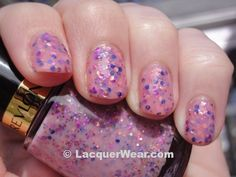 Brand: Revlon // Collection: Bubble Gum Days Urban Nights (2012) // Color: Girly // Blog: LacquerWear