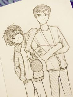 nice drawing of this brothers...