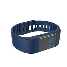 Smart Watch Inkach® M1 Smart Bracelet Heart Rate Monitor Waterproof Bluetooth Wristband Sports Watch Gift (Navy)   Waterproof Standard: IP54 Sensor: Gravity acceleration sensor Charge:5V USB jack,charge by PC USB Equipment model M5S heart rate smart