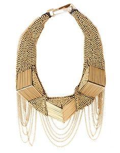 Fiona Paxton Beaded Collar Necklace - StyleSays
