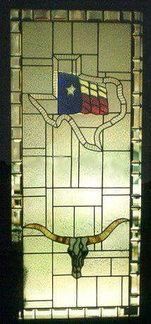 Custom Made Texas Doors Stained Glass Patterns, Stained Glass Art, Eyes Of Texas, Texas Home Decor, Loving Texas, Texas Pride, Lone Star State, West Texas, Texas Homes