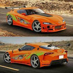 2020 Toyota Supra entdeckt Drehszenen für Fast and Furious 9 . - I Love Motorrad Toyota Supra, Toyota Autos, Bmw Autos, Toyota Cars, Tuner Cars, Jdm Cars, Cars Auto, Fast And Furious, Automobile