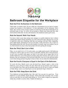 Bathroom Etiquette Signs bathroom signs for home | pinterdor | pinterest | bathroom designs