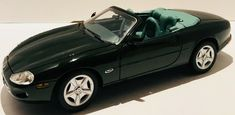 Maisto Jaguar Green Color & Inside Rare Diecast 1 18 Scale Movable Parts Jaguar Colors, Michael Best, Jaguar Xk8, Diecast Model Cars, St Kitts, Scale Models, The Ordinary, Ford Mustang, Colorful Interiors