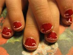 nails for christmas - Bing Images