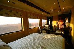 Overnight on a train
