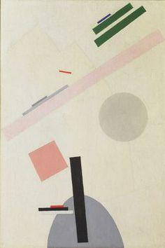 Kazimir Malevich. Suprematist Painting. 1916-17