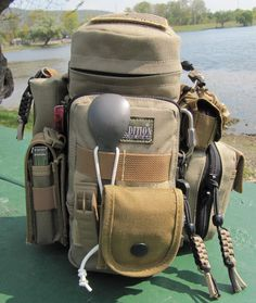 Maxpedition Water Bottle Holder with additional pouches