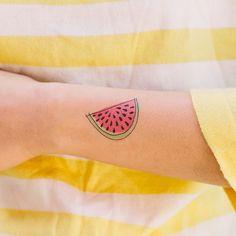 @Tattly watermelon tattoo
