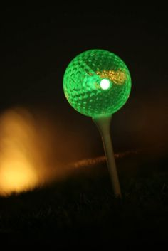 Night Golf Ball http://glowproducts.com/nightgolf #NightGolf