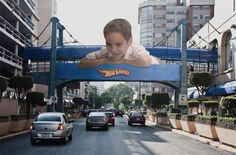 Who doesn't love Guerrilla Marketing and Hot Wheels? Perfect combo!