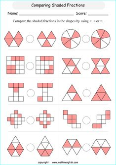 printable primary math worksheet Math Fractions Worksheets, Learning Fractions, Homeschool Worksheets, 1st Grade Math Worksheets, Math Resources, Teaching Math, Engage Ny Math, Classroom Birthday, Math Sheets