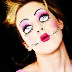 Scary Halloween make-up
