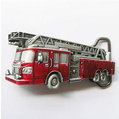 Firetruck Belt Buckle
