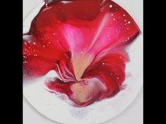 Acrylgieten is een hele leuke techniek waarbij je acrylverf verdunt en deze giet op een doek. Ik heb 10 leuke technieken voor je op een rijtje gezet. Acrylic Painting Techniques, Using Acrylic Paint, Painting Tips, Balloon Painting, Pour Painting, Acrylic Pouring Art, Acrylic Art, Watercolor Cat, Abstract Flowers