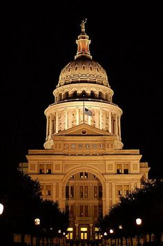 Austin... Texas State Capital building ~ love this place!  If you haven't been, you ought to go!