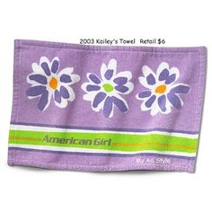 American Girl Doll Kailey's Towel