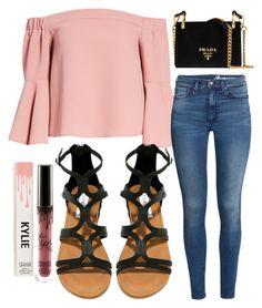 """""""Friyay"""" by jadenriley21 on Polyvore featuring Topshop, H&M, Steve Madden and Prada"""